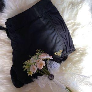 Roxy Black Board Shorts Size 7